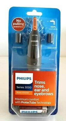 3in1 Philips Series 3000 Battery-Operated Nose, Ear & Eyebrow Trimmer