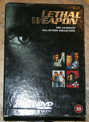 Lethal weapon DVD boxset 1-4