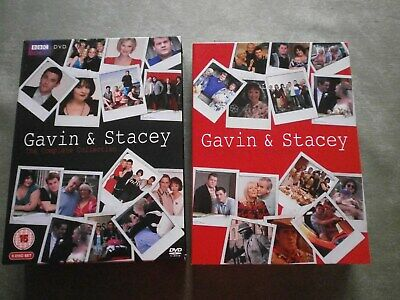 Gavin & Stacey, The Complete Collection, series 1-3 ,Xmas special 6 DVD's, boxed