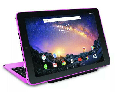 RCA Galileo Pro 11.5 32GB 2 in 1 Touchscreen Tablet Keyboard Android 8.1 Go Pink