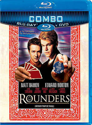 Rounders (Blu-ray/DVD, 2011, Canadian)