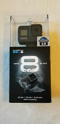 GoPro HERO8 Black,Waterproof Action Camera with Touch Screen 4K BRAND NEW SEALED