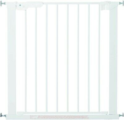 BabyDan Premier True Pressure Fit Safety Gate (White), Fits Openings from...