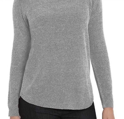 SO SOFT LOVELY NECKLINE VARIETY SZ//CLRS NEW WOMENS ELLEN TRACY CHENILLE SWEATER