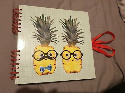 Paperchase Scrapbook Pineapple Fruit