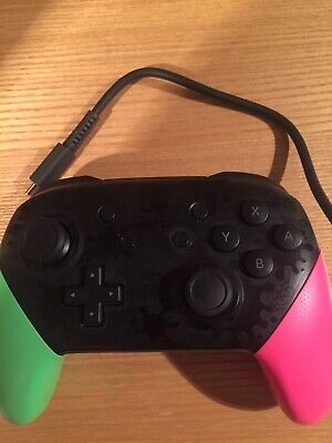 Nintendo Switch Pro Controller *Splatoon*