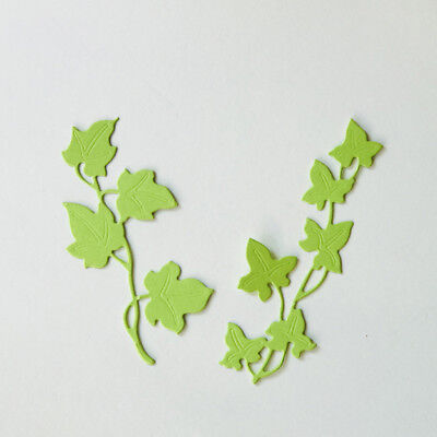 2pcs Flower Tree Design Metal Cutting Die For DIY Scrapbooking Album Paper GNCA;