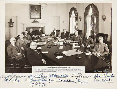 Harry S Truman - Autographed Signed Photograph With Co-Signers