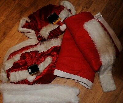 Fancy Dress Bundle Joblot 2 X Mens 2 X Womens Santa Costumes Christmas Party Cou