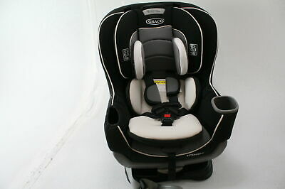 Graco 1963212 Extend2Fit Convertible Rear & Front Facing Car Seat Gotham Black