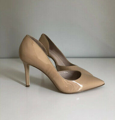 Nine West High Heels Nude Patent Leather. Size 7m