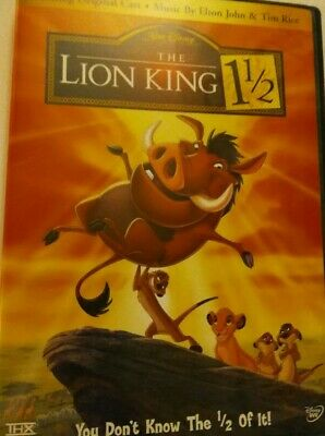 Disney The Lion King 1 1/2 DVD 2 Disc Set Bonus Features G EUC 2004