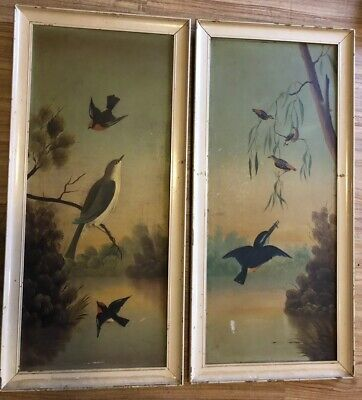 Pair Of Original Framed Paintings