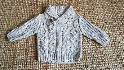Boys 0-3 Autograph Marks And Spencer Chunky Knit Jumper