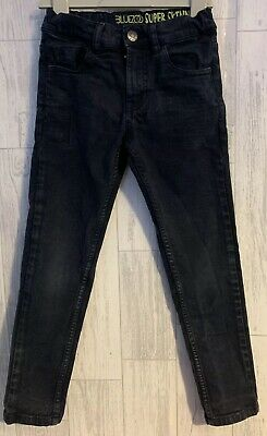 Boys Age 7 (6-7 Years) Bluezoo Super Skinny Black Jeans