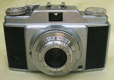 Vintage AGFA Silette Camera Made in Germany