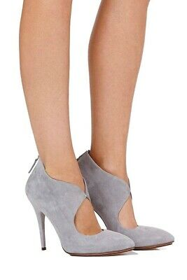 Sass & Bide Guilded Youth Grey Suede Heels SZ41