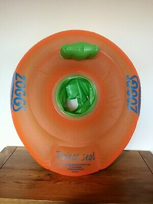 Zoggs Baby Swimming Trainer Seat 12 - 18 Months - Orange