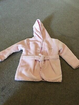 Girls Dressing Gown Age 6-12 Months