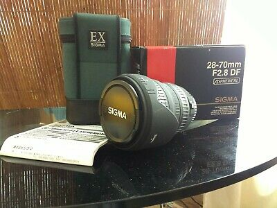 Sigma 28-70mm D f/2.8 Aspherical EX Lens Canon AF great condition UK
