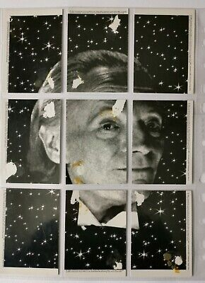 Very Rare Portrait Of The First Doctor Made Up Of Nine Premier Trading Cards