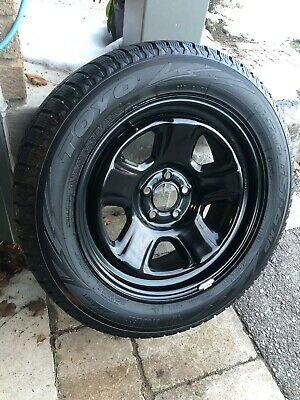 4 x TOYO winter tires on rims (Immaculate)