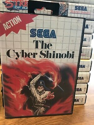 THE CYBER SHINOBI Master System