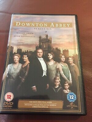 Downton Abbey Season Series 6 (DVD, 2015) NEVER BEEN WATCHED