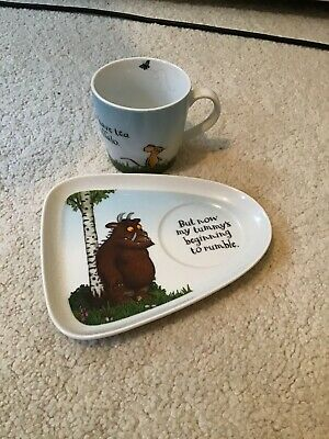 The Gruffalo Childrens Plate & Cup Set