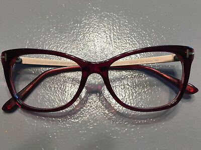 Tom Ford  5353 eyeglasses Authentic RX With Case  TF 5353 075 52-15