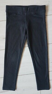Gap Girls Denim Look Jeggings Leggings Trousers 4-5 Years