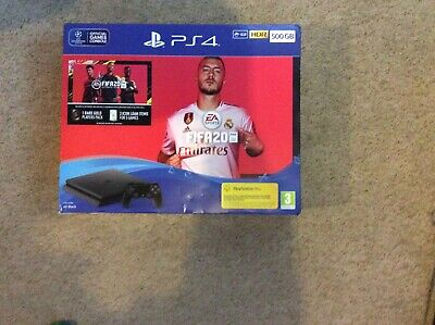 PS4 500GB FIFA 20 Bundle Free UK P&P Brand New & Sealed