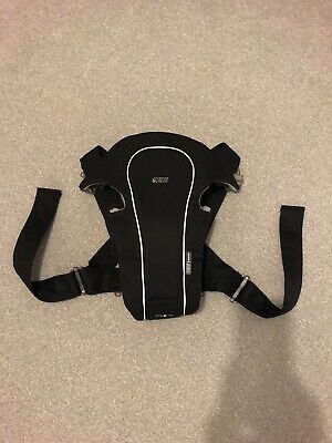 Mamas & Papas Classic Baby Carrier (Black) - Excellent Condition