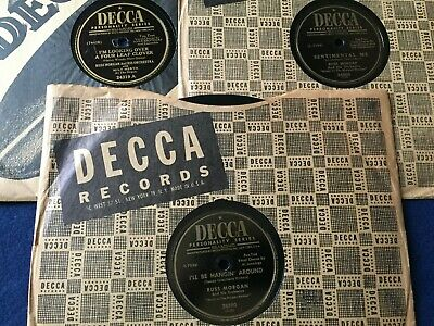 Russ Morgan Decca 24319, 24904 & 28590 G To Ex- 1948-1953 I'll Be Hangin' Around