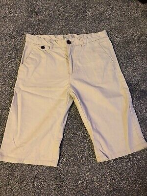 Zara Boys Beige Cream Chinos Age 11 12