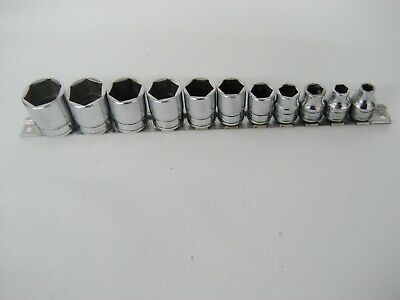 """Snap on 3/8 inch drive  socket set, 1/4"""" to 7/8"""" in 1/16 inch increments"""