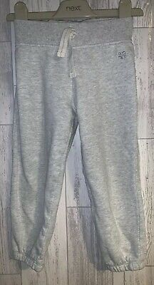 Girls Age 2-3 Years - Next Grey Jogging Bottoms
