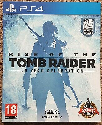 Rise of the Tomb Raider - 20 Year Celebration Art Book - Playstation 4 PS4