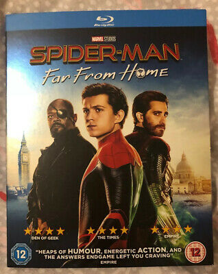 Spider-Man Far From Home Blu-Ray