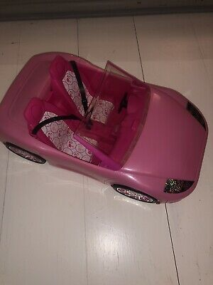 Pink Barbie Glam Convertable Car (Plastic)