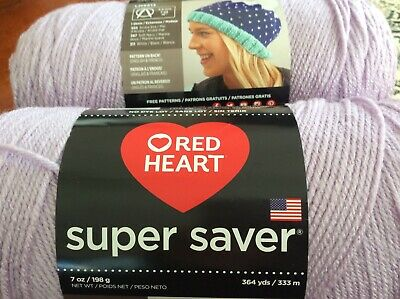 SKEIN//BALL OF RED HEART SUPER SAVER YARN ~ COLOR #322 PALE YELLOW