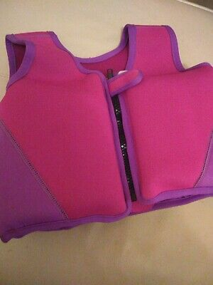 Childs Girls Swim Float Vest Age 2 / 3