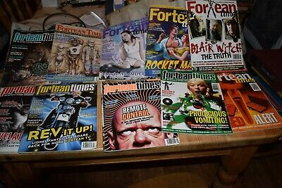 10 copies of Fortean Times