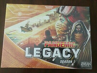 Pandemic Legacy Season 2 Yellow Edition - New - Sealed Board Game NEW
