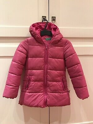Piumino United Colors Of Benetton Bambina 6-7 Anni Perfetto