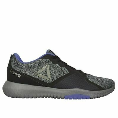 Reebok Flexagon Force Men's Training Shoes (Dv4475) Black/Alloy/Cobalt Size 12