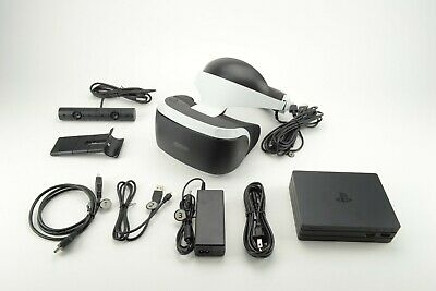 Playstation VR (CUH-ZVR2) bundle for PS4, VR headset, Processor unit and Camera.