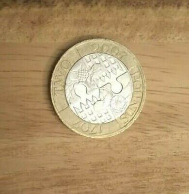 2007 Act of Union £2 Two Pound Coin - Commemorative Circulated UK United Kingdom