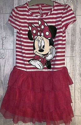 Girls Age 5-6 Years - Minnie Mouse Summer Dress
