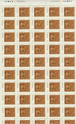 Canada - Rare Mint Sheet Of 50 Stamps - Vfnh - Scott #1224 - Madonna And Child